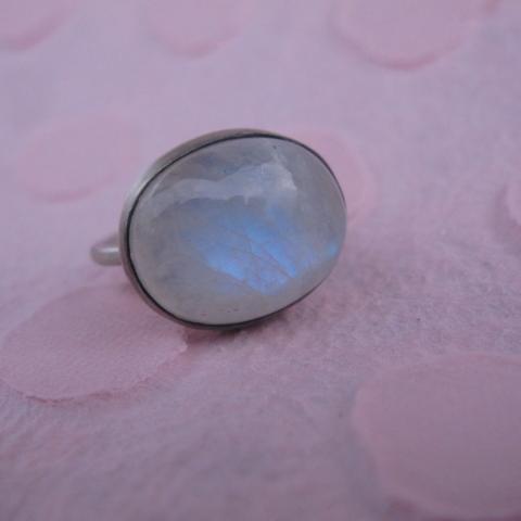 Prsten JOY směsíčním kamenem